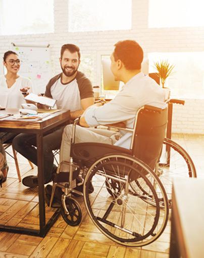 Antrag auf Förderung für einen Rollstuhl