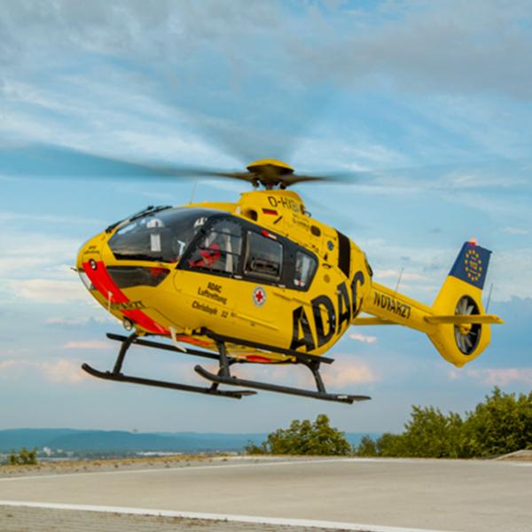 Hubschrauber der ADAC Luftrettung