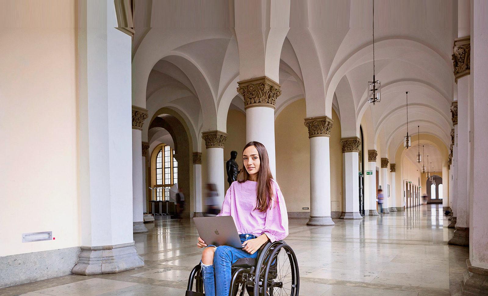 Elektroantrieb für einen Rollstuhl von Amelie Ebner